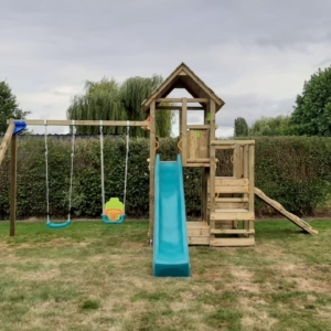 Speeltorens Blue Rabbit inclusief plaatsing